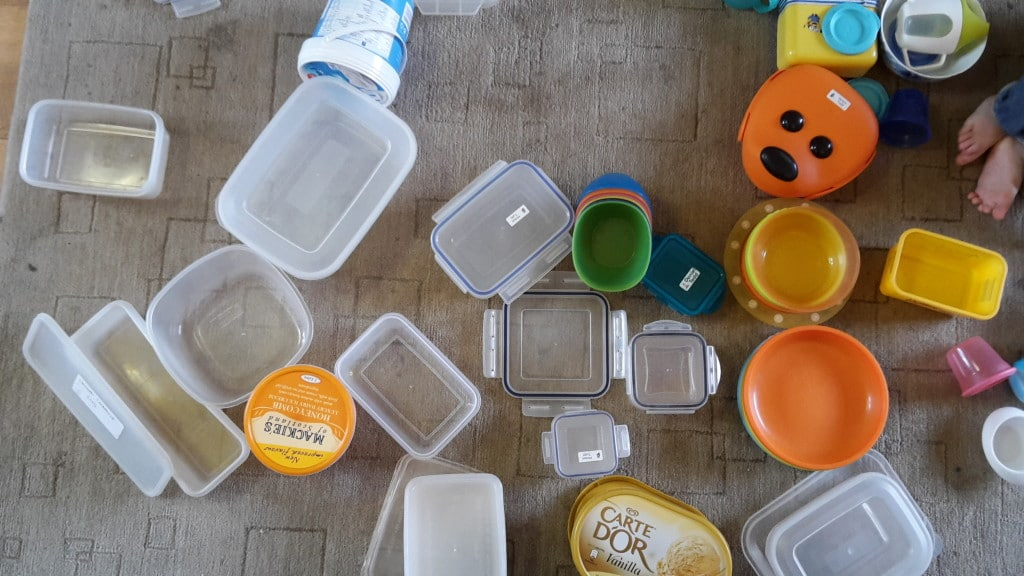 plastic tupperware