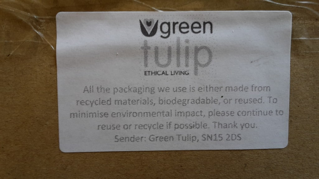 Ethical packaging!