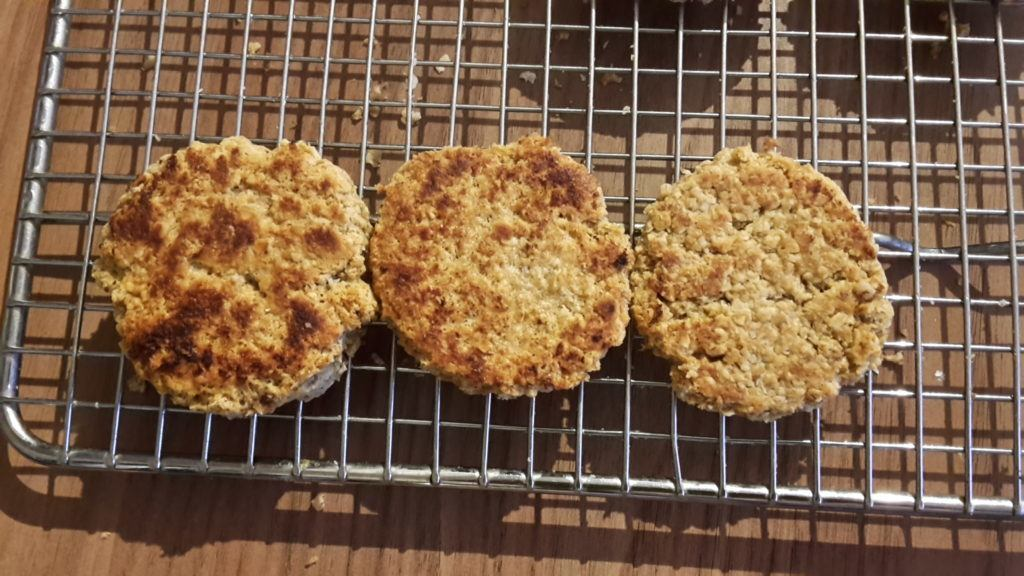 Frying pan oatcakes