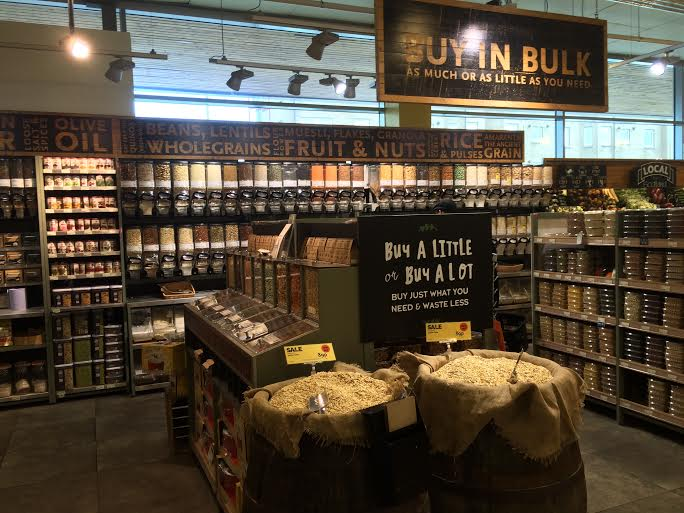 Buying in bulk at Whole Foods Market Giffnock