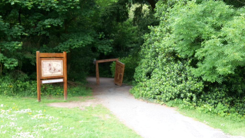 Narnia at Kilbroney park Co Down Northern Ireland