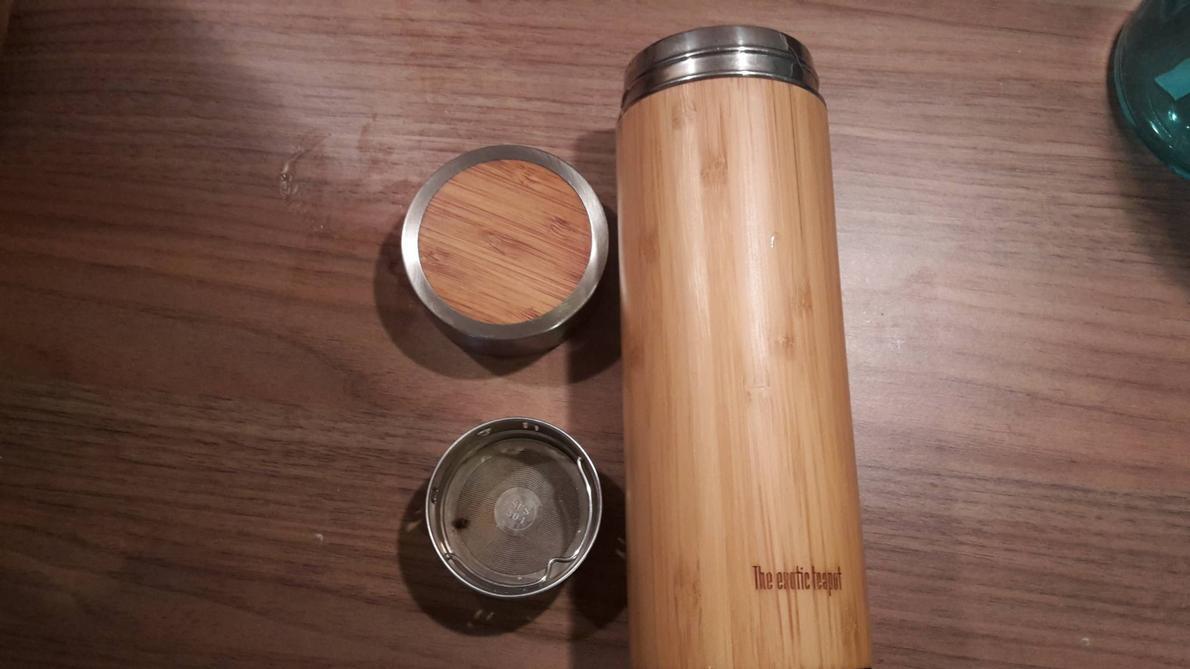 Stainless steel tea flask